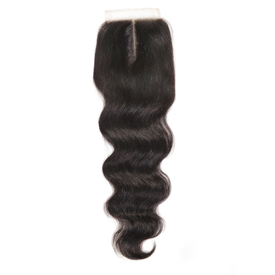 Natural Bodywave Closure 4x4 Middle Parting