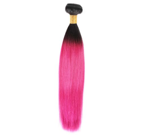Ombre Straight T1B/ROSE