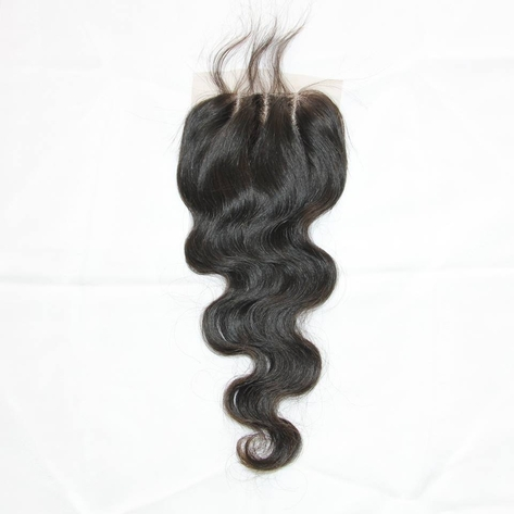 Virgin Remy 3 Part Closure Body Wave 4x4