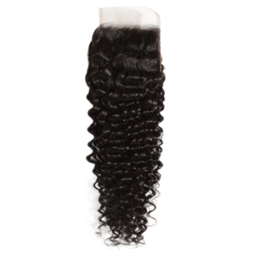 Virgin Remy Curly Lace Closure 4X4